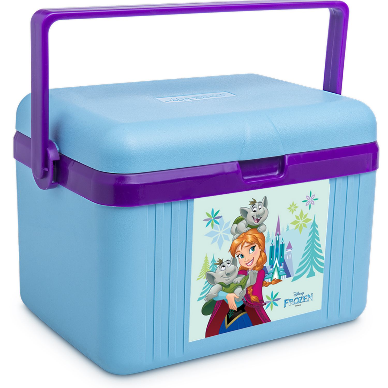 Frozen cooler disney 4.5 l. tapa/base Celeste