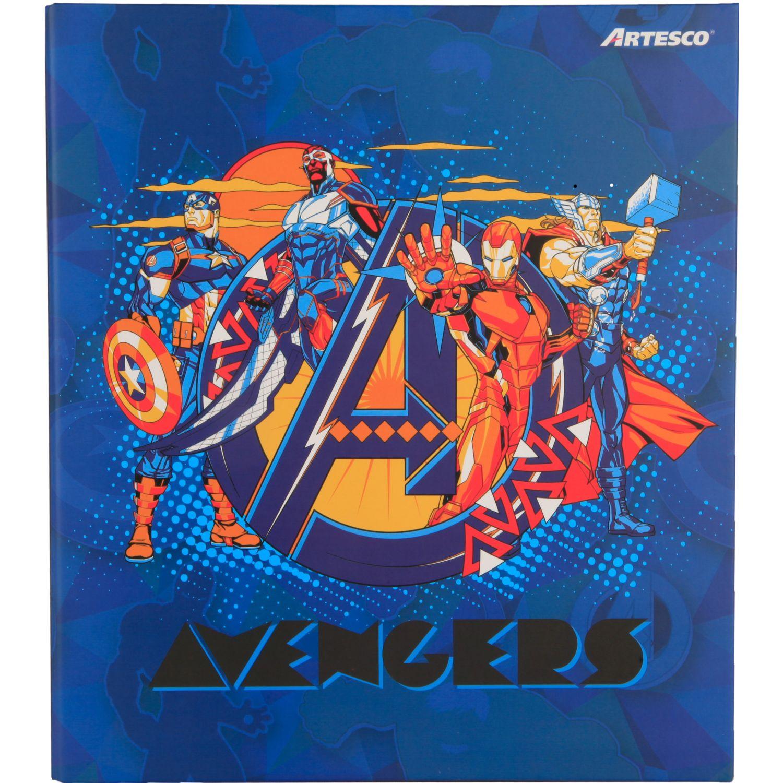 Avengers Pioner Disney A-4 2/A D 25mm Negro Álbumes de carpeta de tres anillos