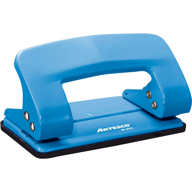 Artesco Perforador Colors M-208 Celeste Perforadoras