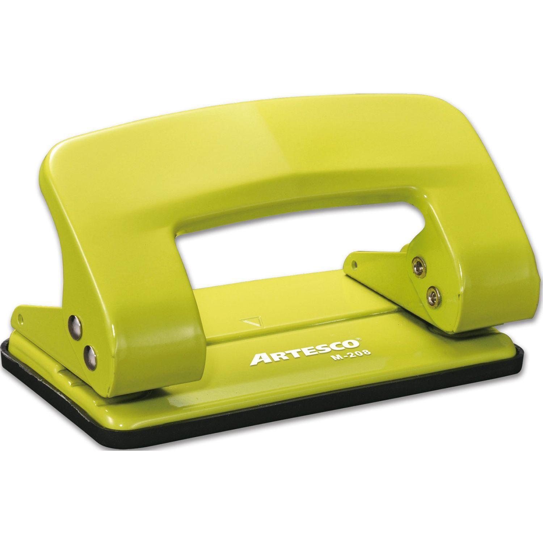 Artesco PERFORADOR COLORS M-208 Verde Perforadoras
