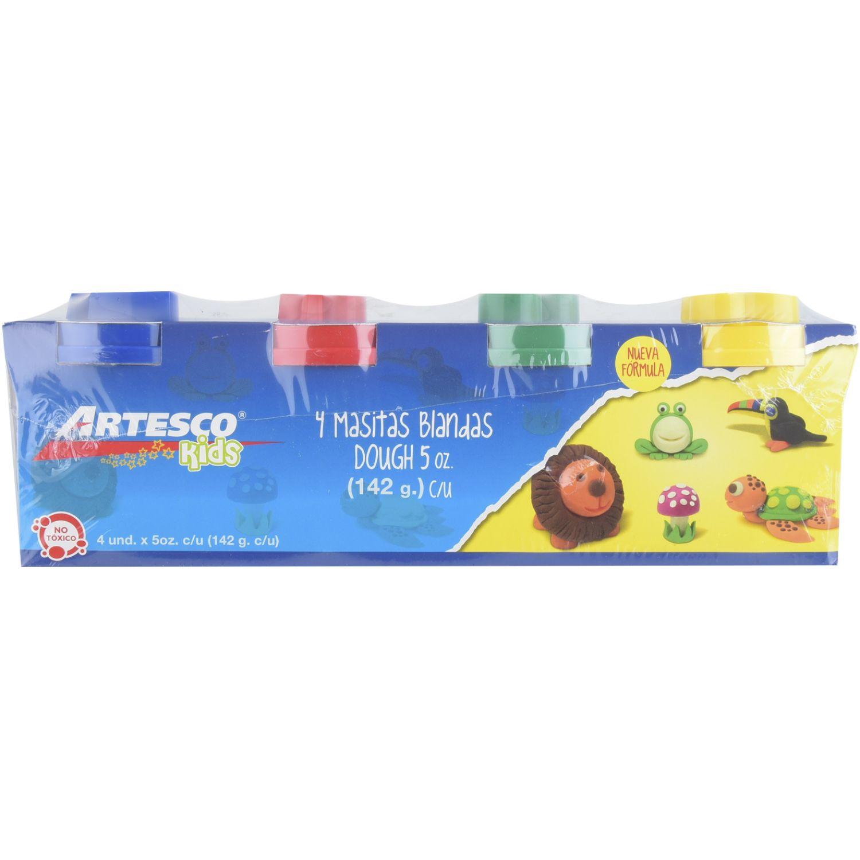 Artesco MASITA BLANDA X 4 ARTESCO DOUGH Varios Arcilla y la pasta