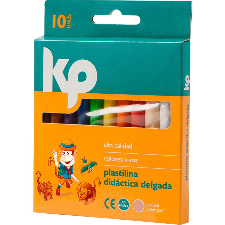 KP plastilina delgada 100gr. cajax10 Varios Arcilla y la pasta