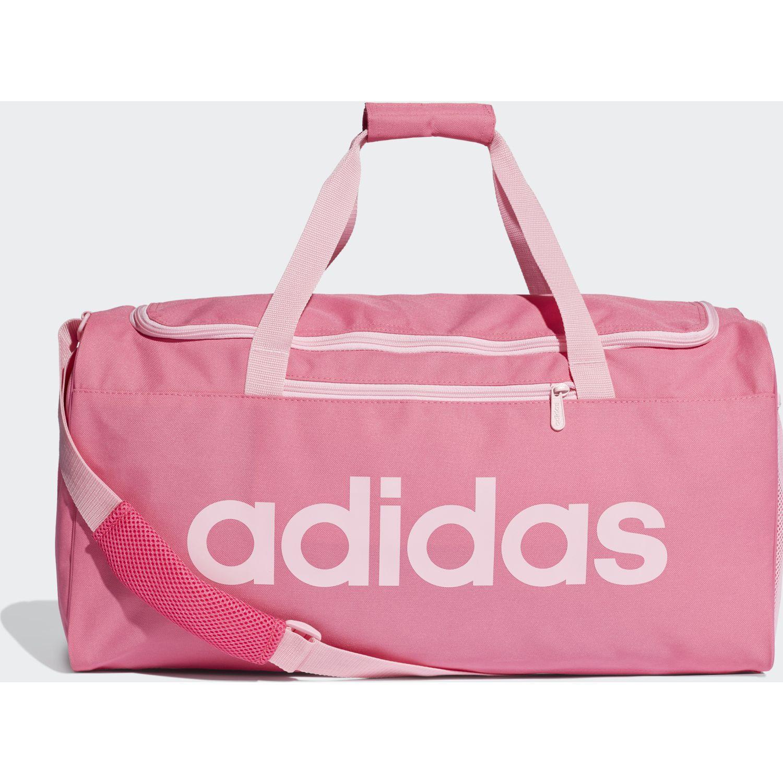 Adidas lin core duf m Rosado Duffels deportivos