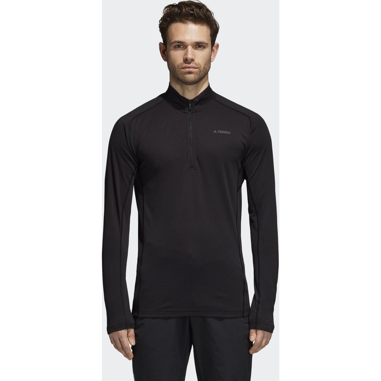 Adidas TraceRo 1/2 LS Negro Hoodies y Sweaters Fashion