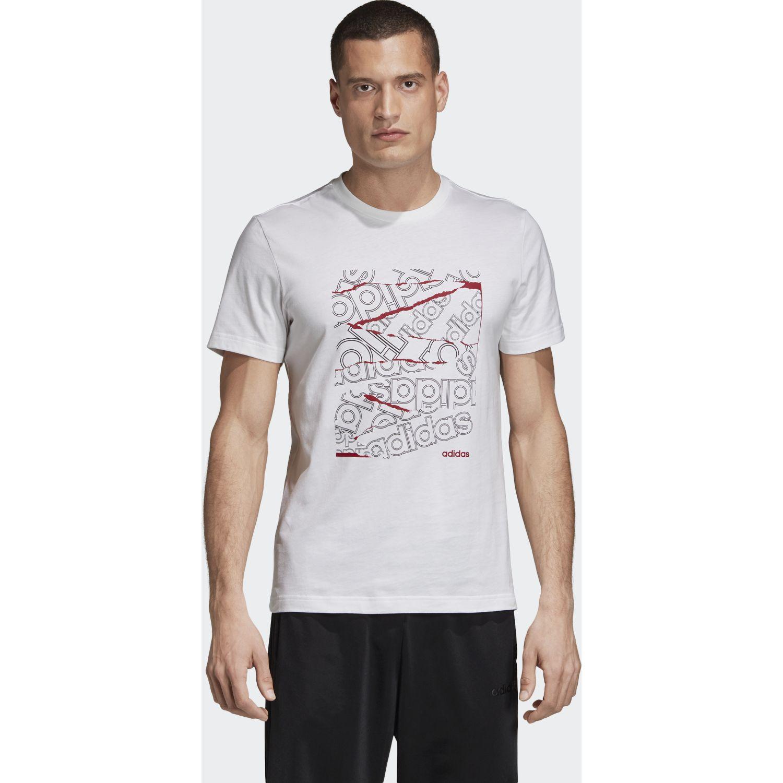 Adidas M Bg Grfx T Blanco Camisetas y polos deportivos
