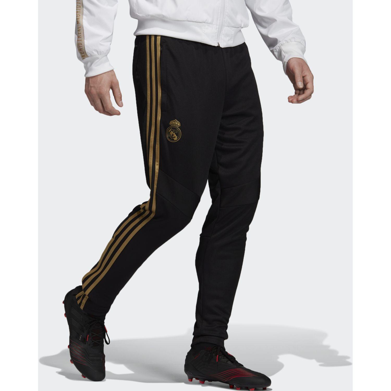 Adidas real tr pnt Negro / dorado Pantalones Deportivos