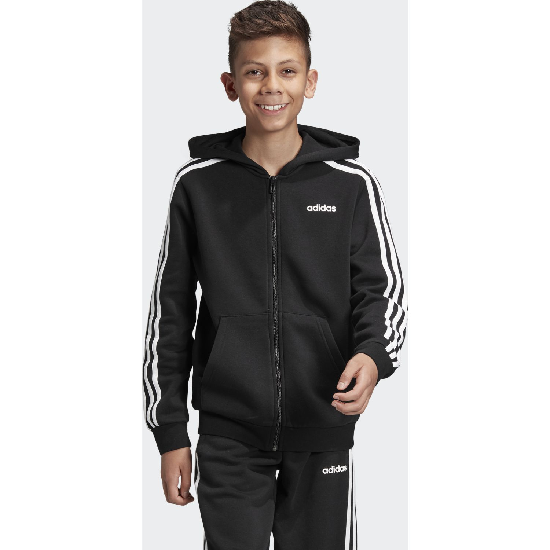 Adidas yb e 3s fz hd Negro / blanco Plumas y alternos