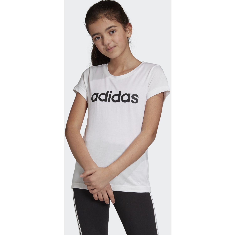 Adidas yg e lin tee Blanco / negro Polos