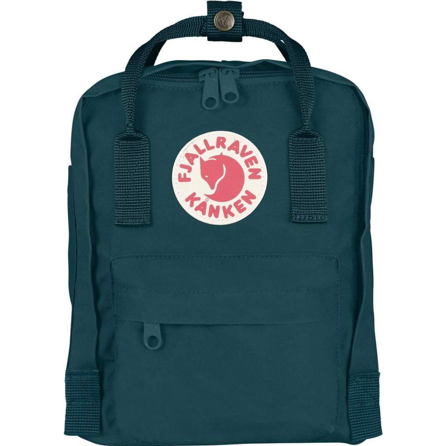 FJALLRAVEN Kanken Mini Turquesa Mochilas Multipropósitos