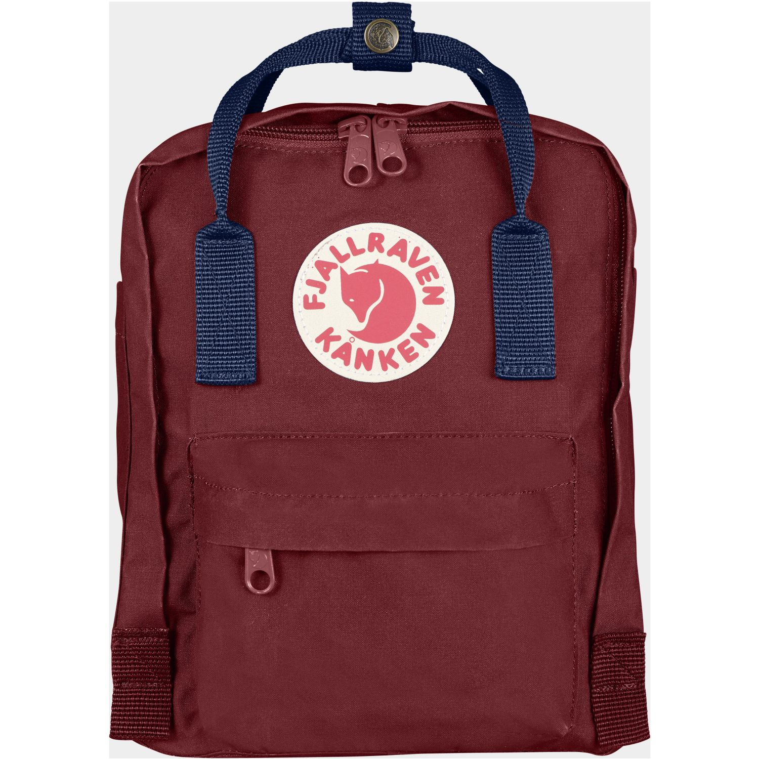 FJALLRAVEN Kanken Mini Vino / azul Mochilas Multipropósitos