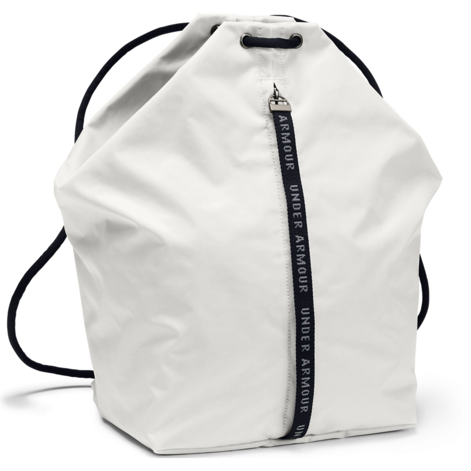 Under Armour Essentials Sackpack-Wht Blanco / negro bolsos de lazo