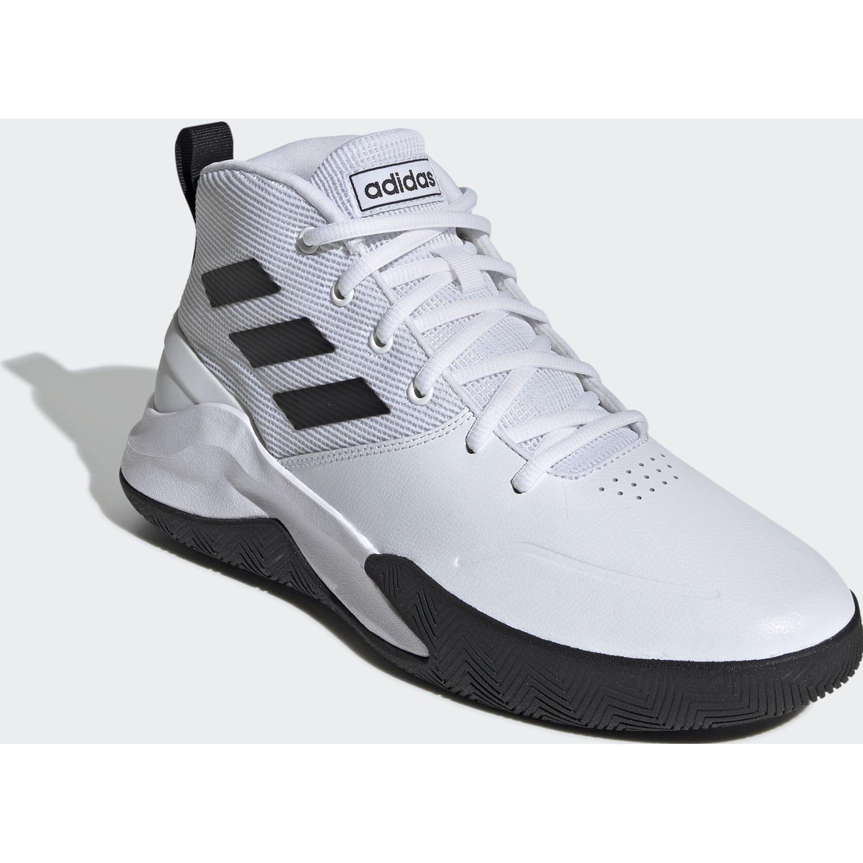 Adidas ownthegame Blanco / negro Hombres