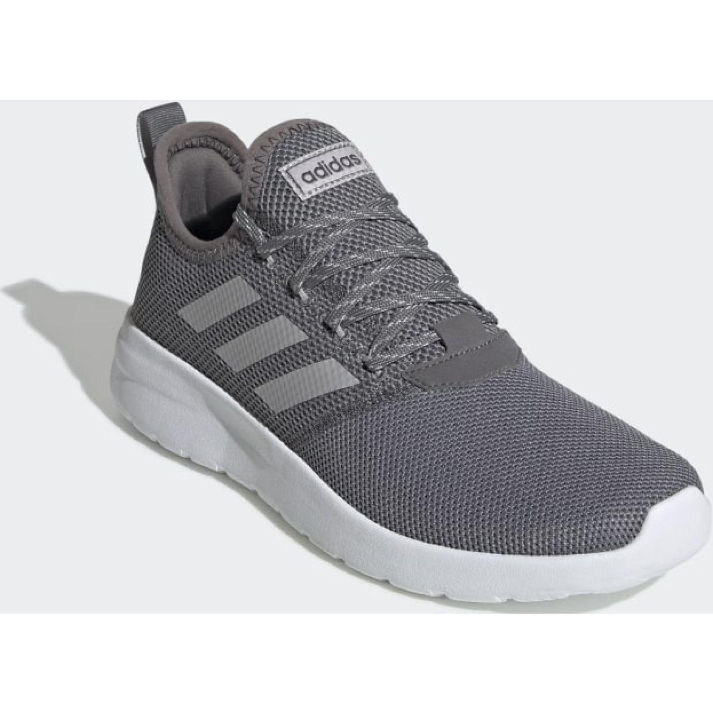 Adidas Lite Racer Rbn Gris / blanco Running en pista