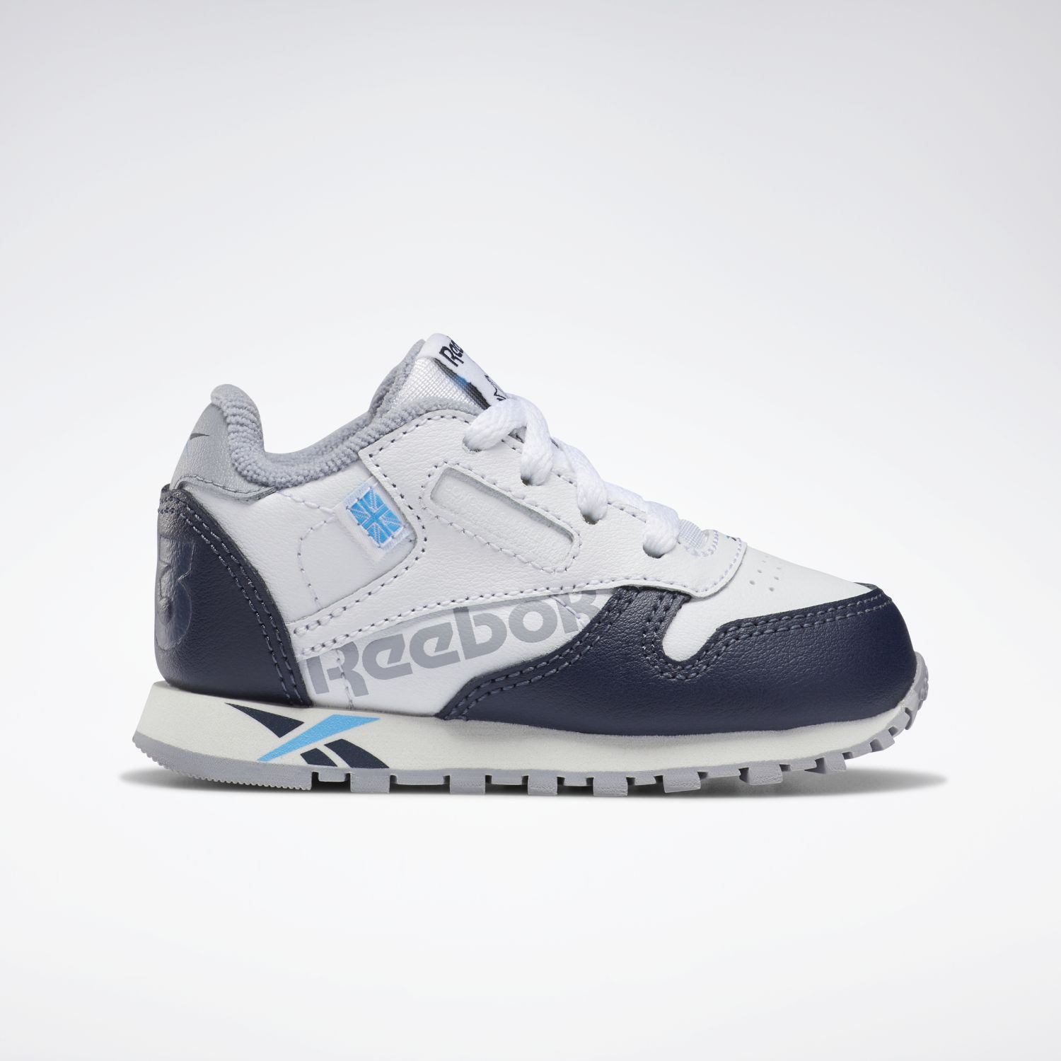 Reebok classic leather Blanco / Navy Muchachos