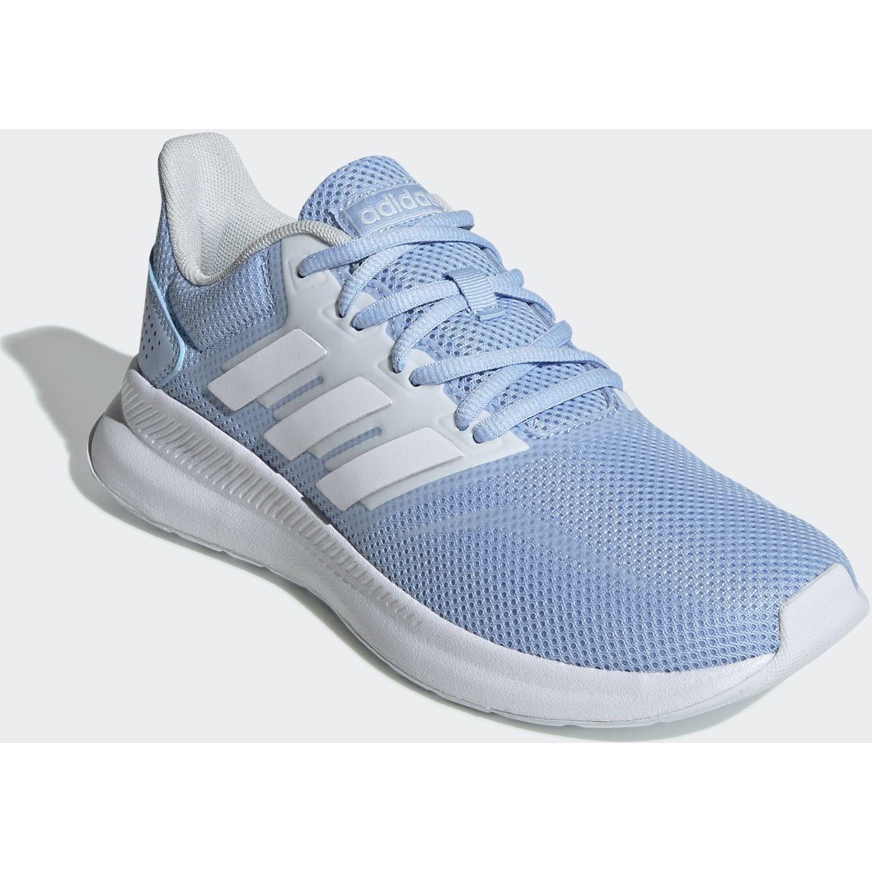 Adidas runfalcon Celeste / blanco Running en pista