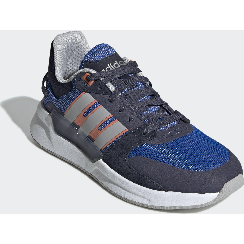 Adidas run90s PLOMO / AZULINO Running en pista