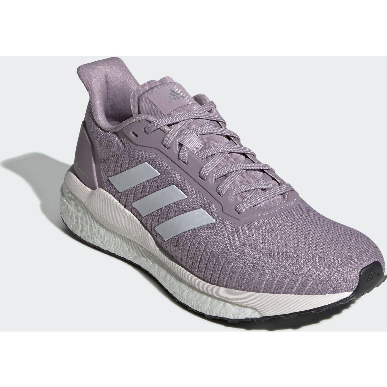 Adidas solar drive 19 w Lila / blanco Running en pista