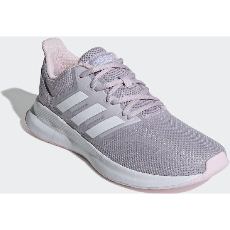 Adidas runfalcon Lila / blanco Running en pista