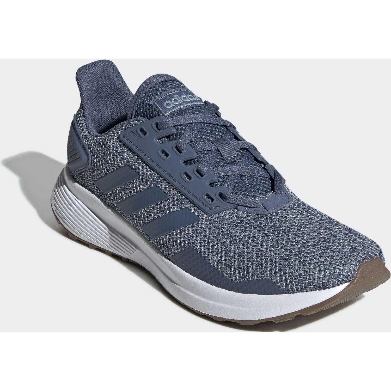Adidas duramo 9 Acero / blanco Running en pista