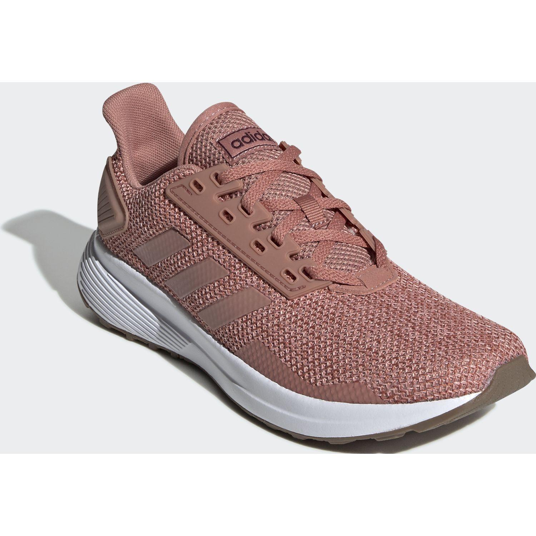 Adidas duramo 9 ROSA / BLANCO Running en pista | platanitos.com