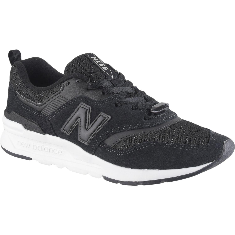 New Balance 997 Negro / blanco Walking