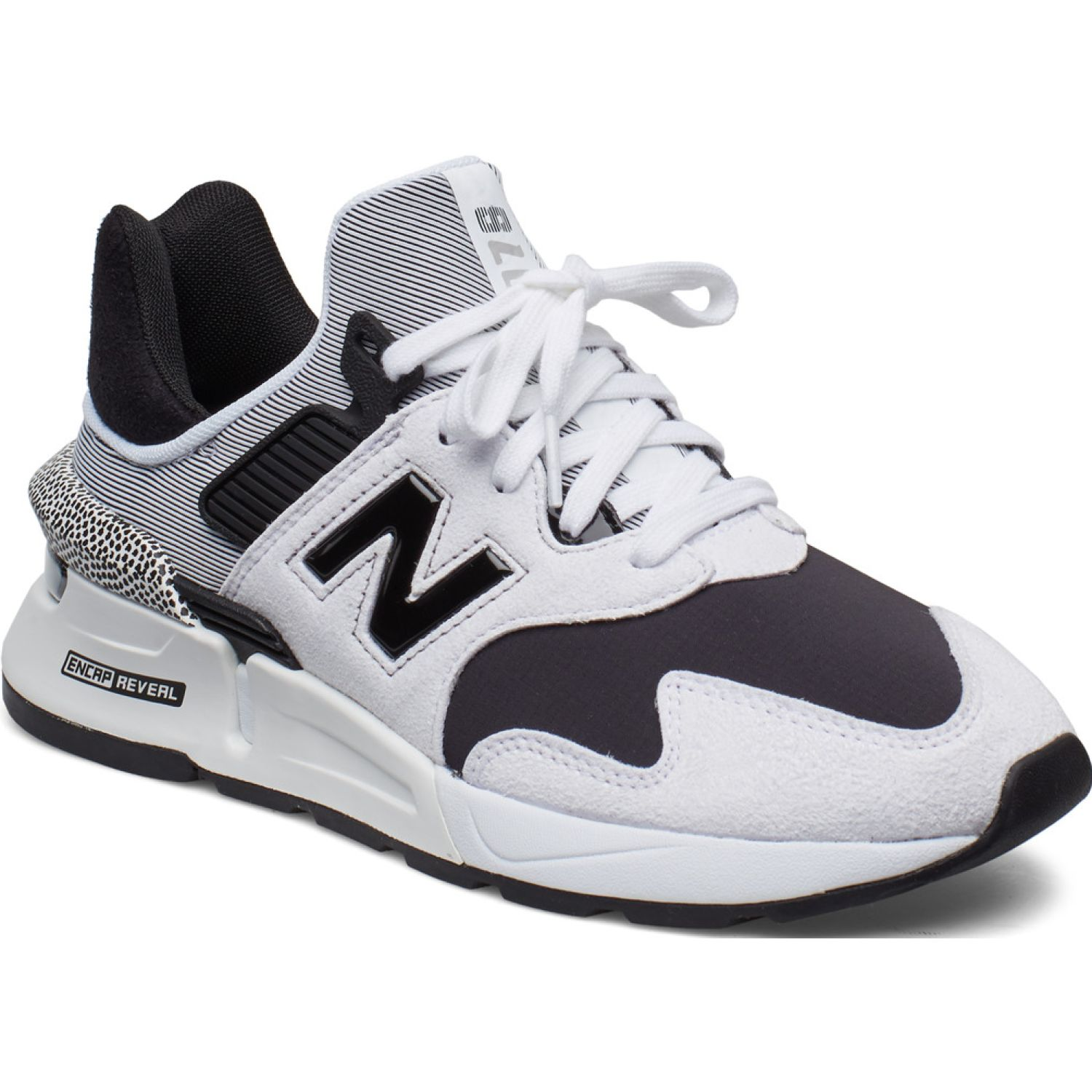 New Balance 997j Blanco / negro Walking
