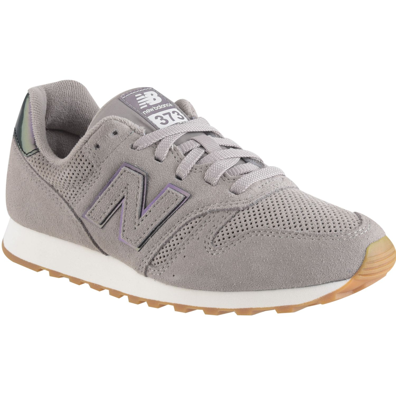 New Balance 373 Gris / morado Walking