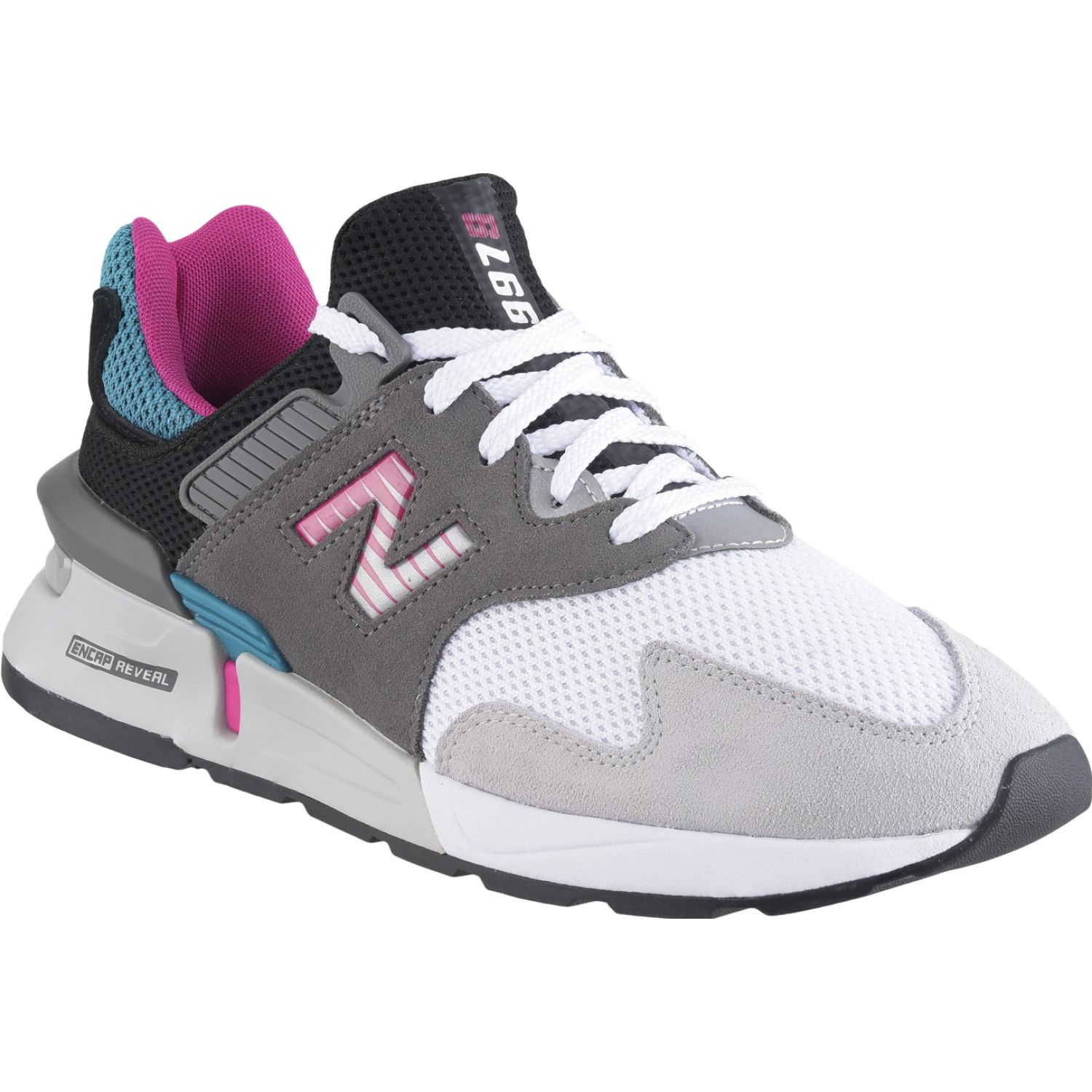 New Balance 997j Gris / rosado Walking