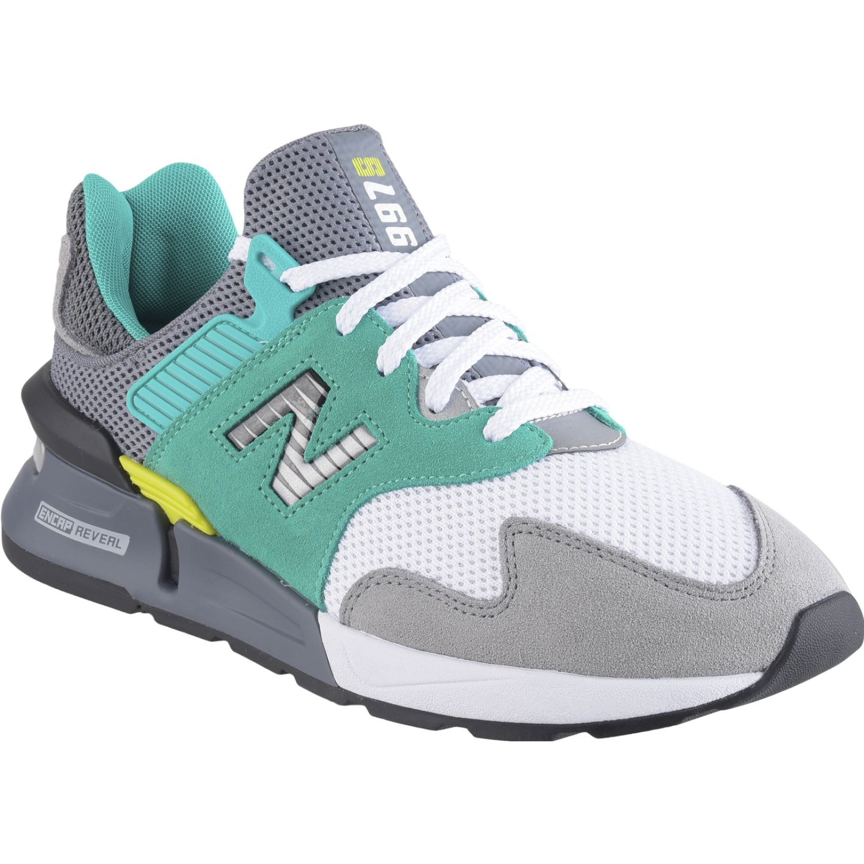 New Balance 997j Gris / verde Walking