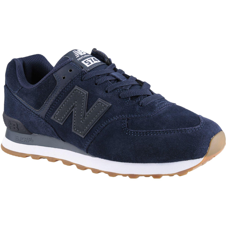 New Balance 574 Navy Walking