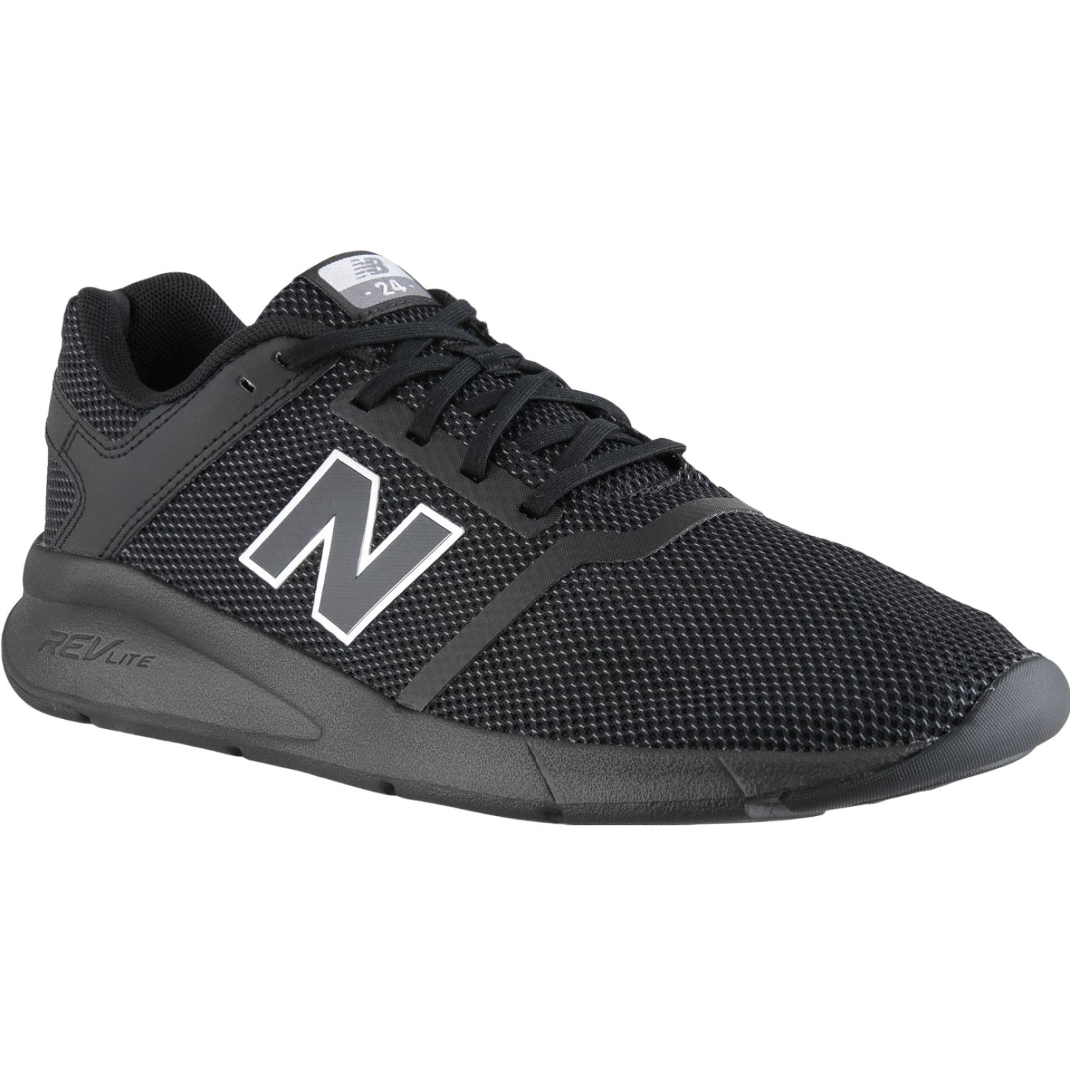New Balance 24 NEGRO / GRIS Walking