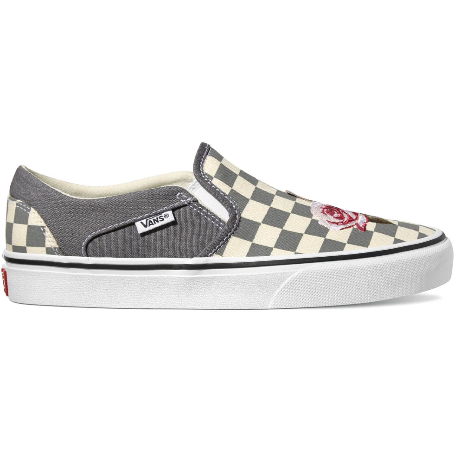 Vans asher Gris / blanco Walking