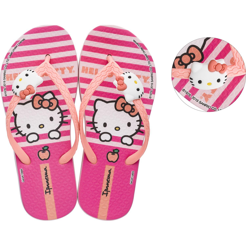 Hello Kitty ipanema hello kitty fashion Rosa Sandalias