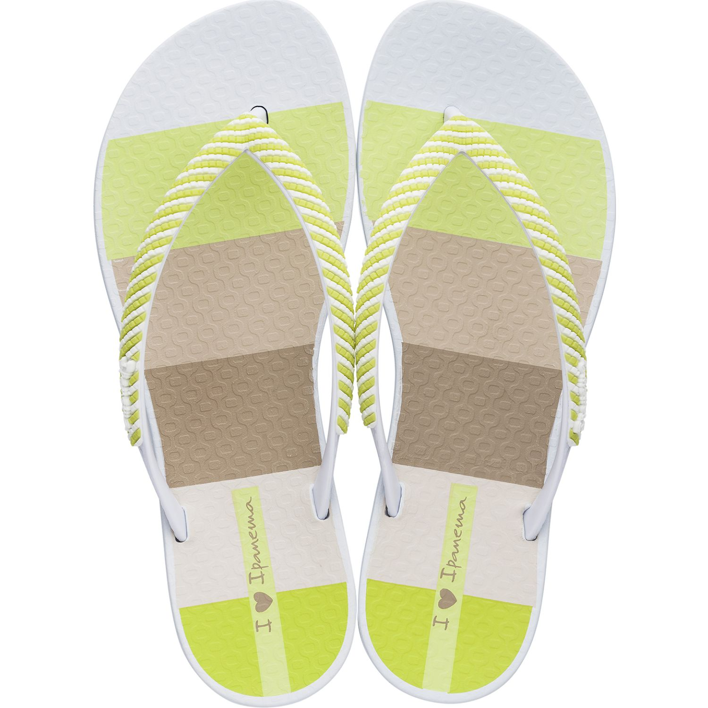 Ipanema ipanema wave trama Blanco / amarillo Flip-Flops