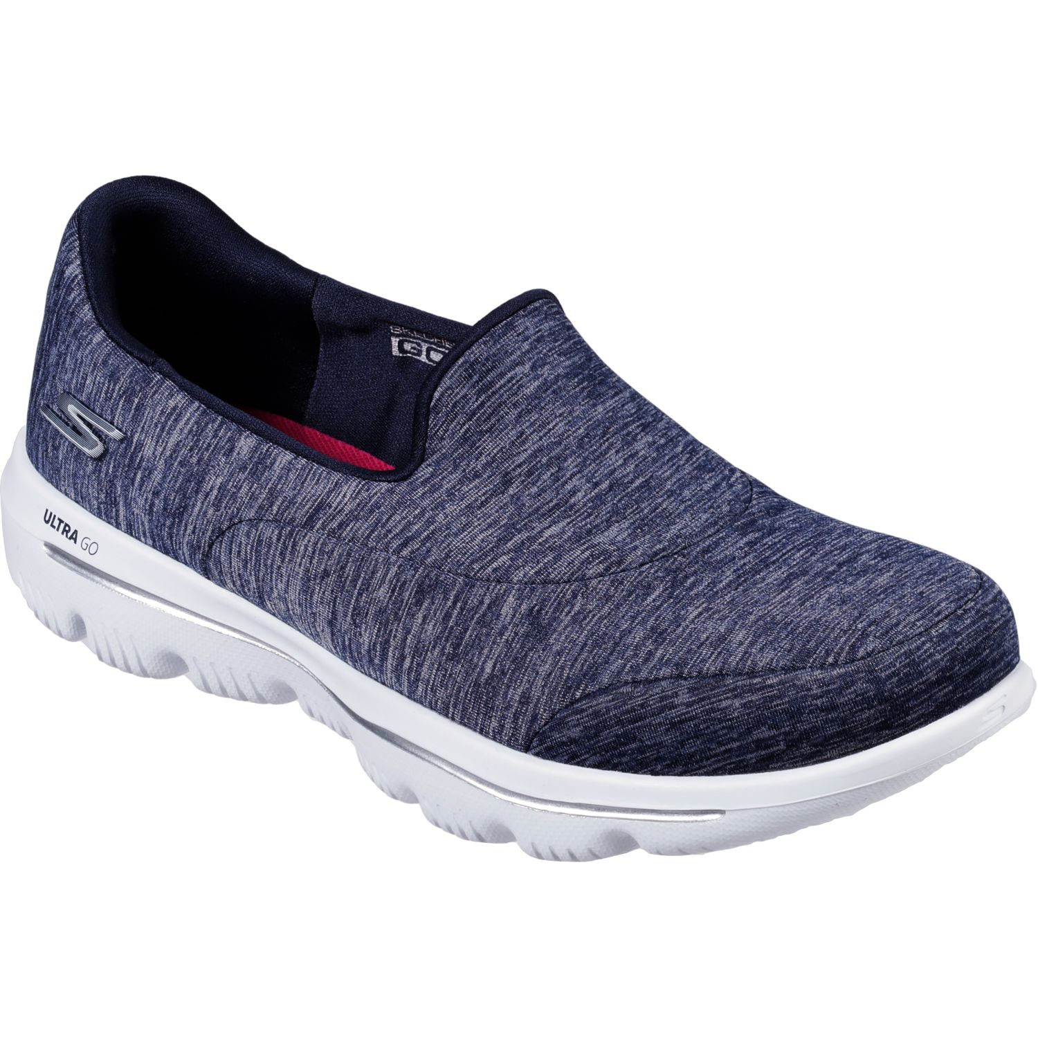 Skechers go walk evolution ultra - amazed Navy / Blanco Walking