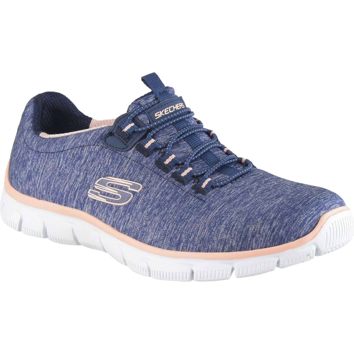 Skechers empire - see ya NAVY / CORAL Walking