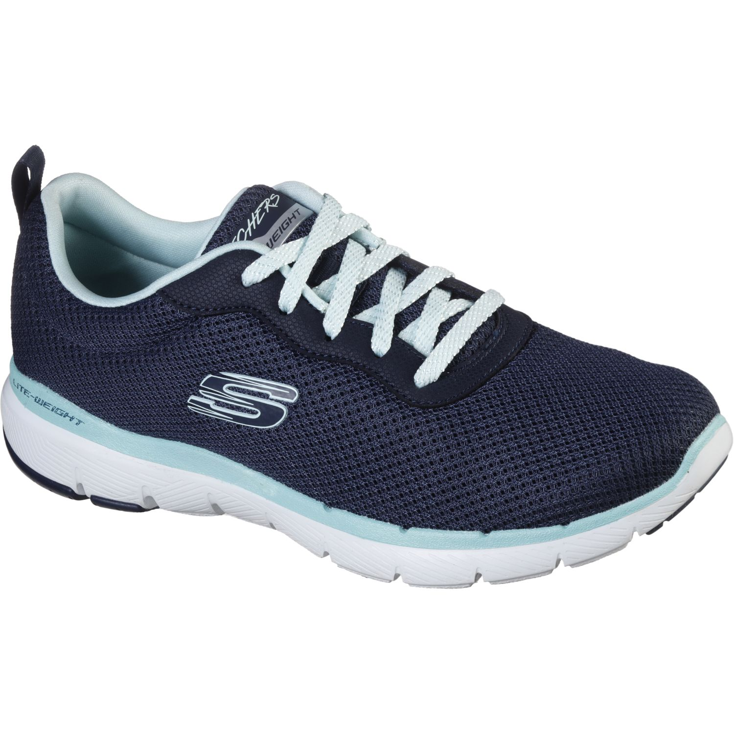 Skechers flex appeal 3.0 - first insight NAVY / AGUA Walking
