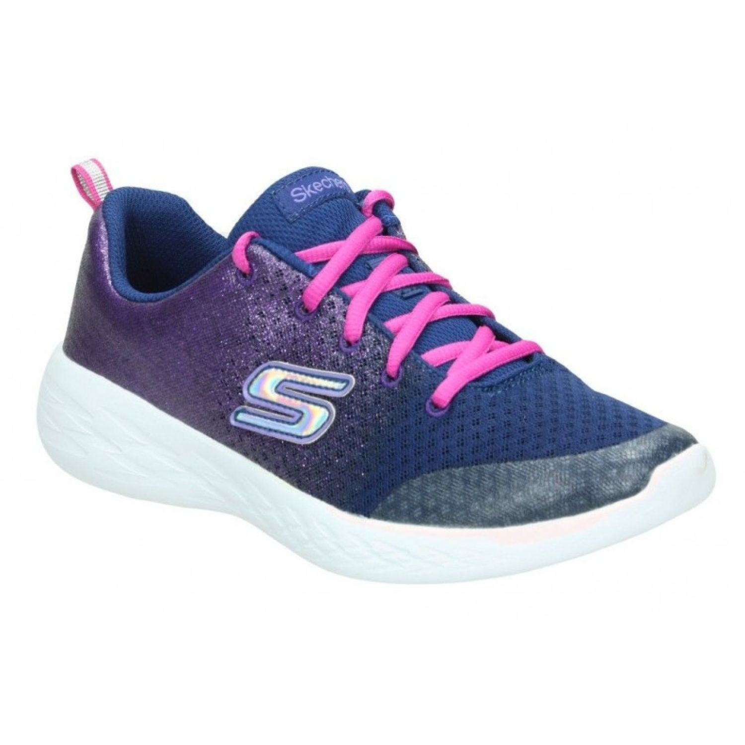 Skechers go run 600 - sparkle speed Azul / lila Walking