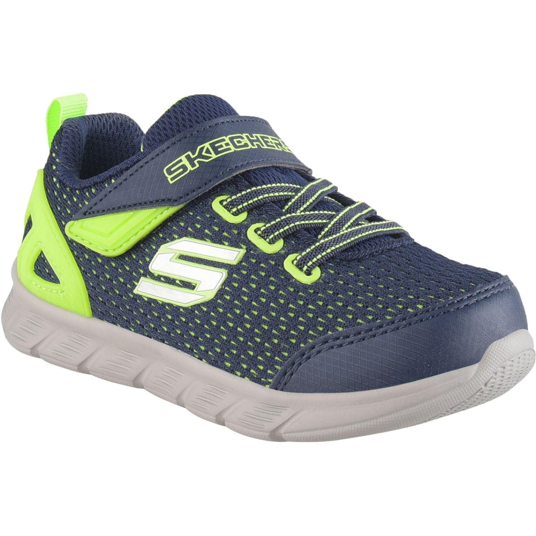 Skechers comfy flex Azul / verde Walking