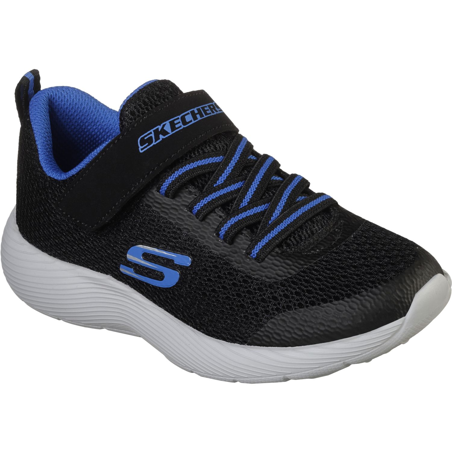 Skechers dyna-lite Negro / azul Walking