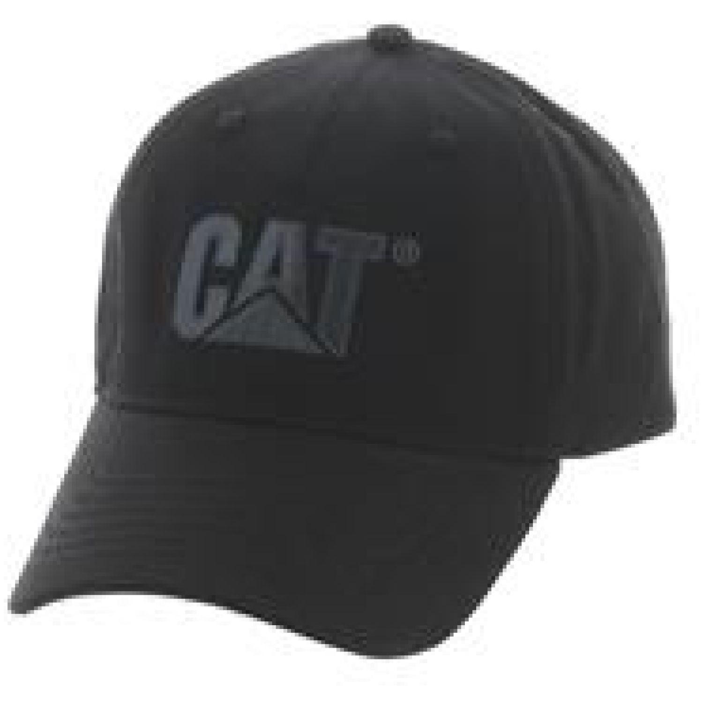 CAT tonal logo hat Negro Gorros de Baseball