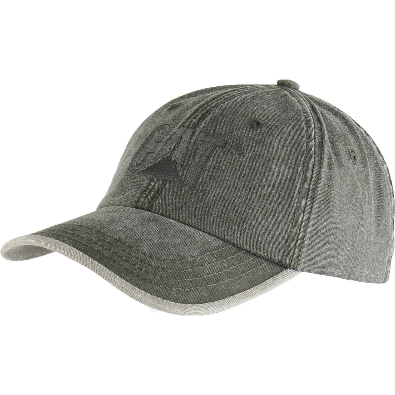 CAT contrast logo hat Verde Gorros de Baseball