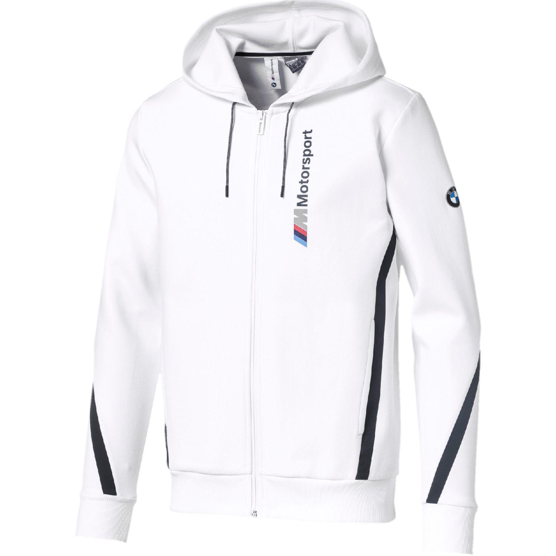 Puma bmw mms hooded sweat jacket Blanco / negro Hoodies y Sweaters Fashion