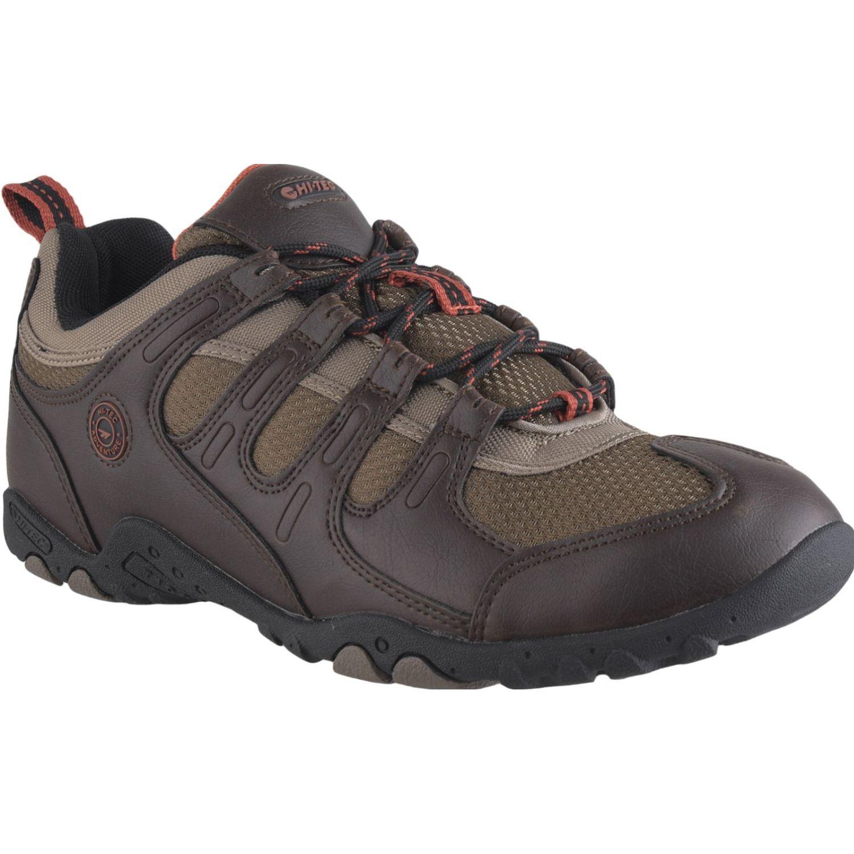 Hi-Tec Quadra Ii Lite Marron / Beige Zapatos de senderismo