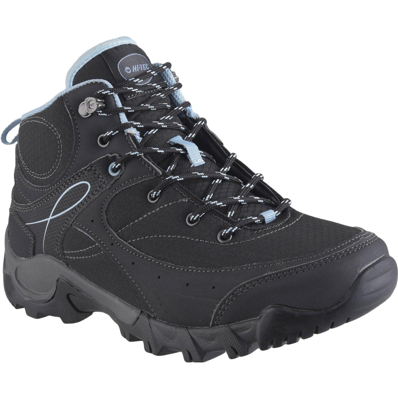 Hi-Tec bijou lite ii mid women's Negro / celeste Calzado hiking