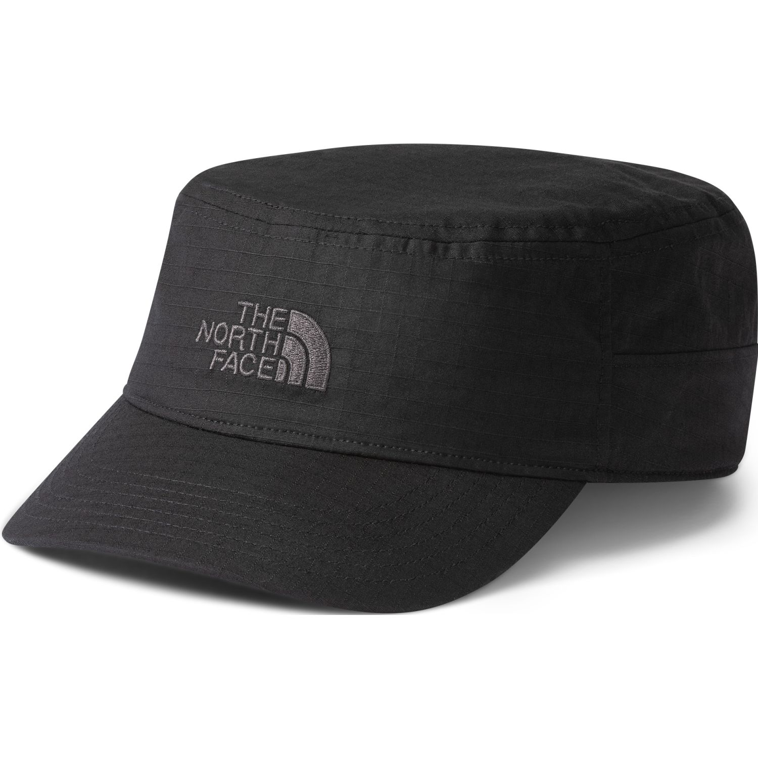 The North Face logo military hat Negro Chullos y Gorros
