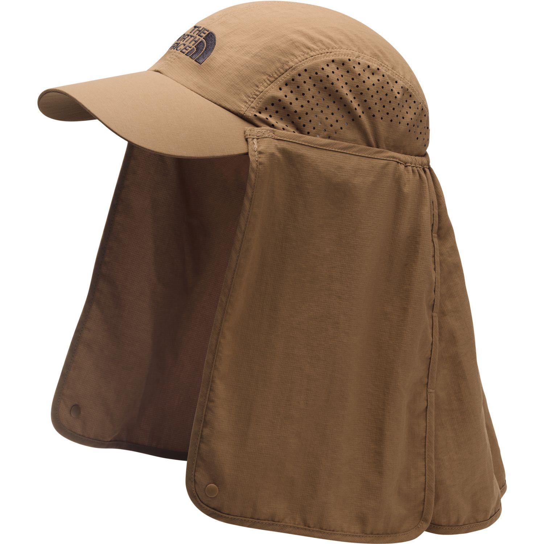 The North Face sun shield ball cap Kaki Gorros de Baseball