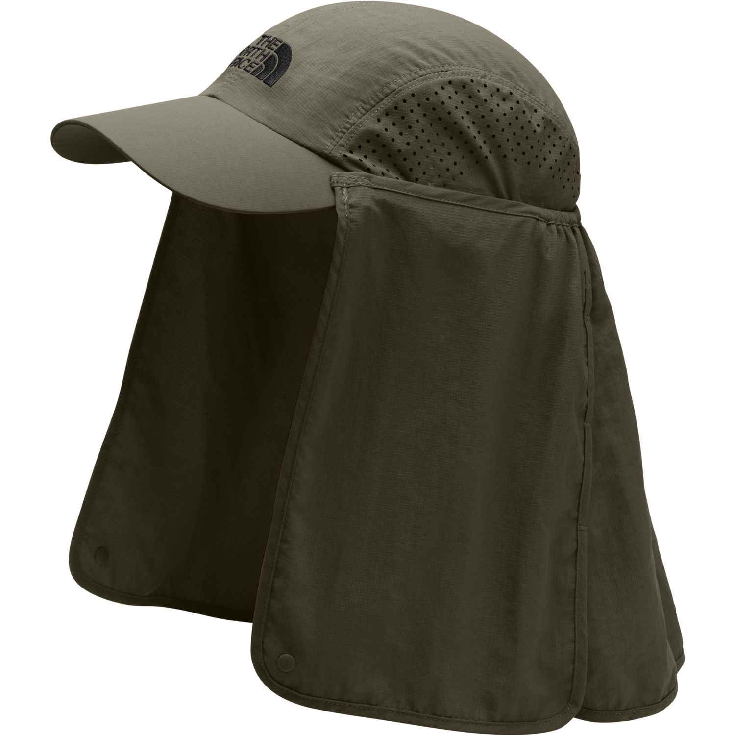 The North Face sun shield ball cap Verde Gorros de Baseball