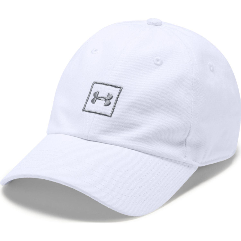 Under Armour men's washed cotton cap Blanco Gorros de Baseball