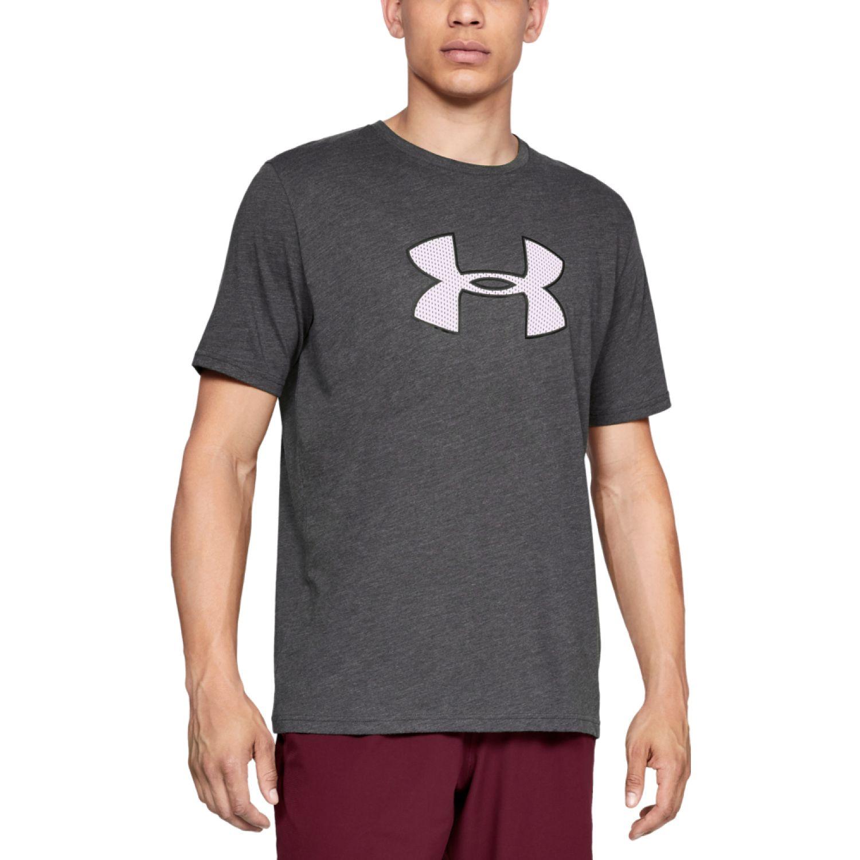 Under Armour Ua Big Logo Ss PLOMO / BLANCO Camisetas y polos deportivos